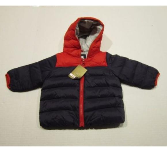 Baby Gap Boys Puffer Hooded Coat Primaloft Nwt NWT